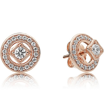 Pandora Rose Vintage Allure Earrings 280721CZ